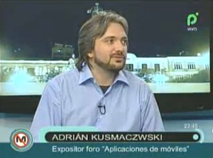 Interview in Bolivian TV – 2011